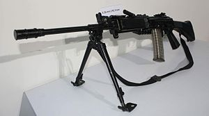 INSAS rifle - INSAS LMG