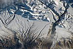ISS-43 Himalaya range near the China–India border.jpg