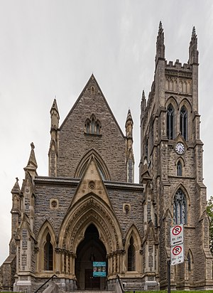 St. George's Anglican Church (Montreal) - Image: Iglesia de San Jorge, Montreal, Canadá, 2017 08 11, DD 29