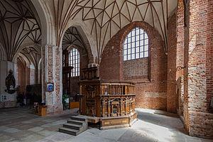 St. Catherine's Church, Gdańsk - Image: Iglesia de Santa Catalina, Gdansk, Polonia, 2013 05 20, DD 06