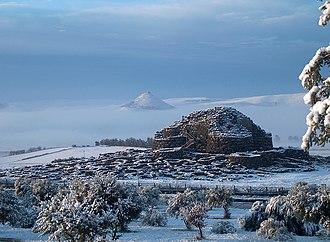 Su Nuraxi (Barumini) - Su Nuraxi in winter