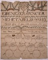 Illustrated family record (Fraktur) found in Revolutionary War Pension and Bounty-Land-Warrant Application File... - NARA - 300126.tif