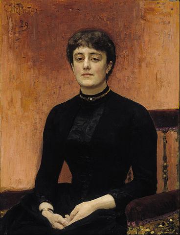И.Е.Репин. «Портрет Елизаветы Званцевой». 1889