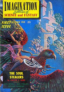 <i>Imagination</i> (magazine) American fantasy and science fiction magazine
