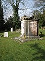 Impressive tomb in East Meon Churchyard - geograph.org.uk - 1193427.jpg