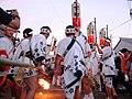 In the first torch ignition Otabisho, Yoshida Fire Festival A.JPG