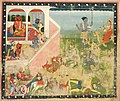 India, Kangra school, 19th century - Kali and Devi Attack- Leaf from a Devi Mahatmya - 1934.220 - Cleveland Museum of Art.jpg