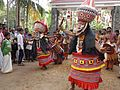 "Indian Ethnic Dance- ""Thirayattam"" (Pookkutty) . Am Environmental theatrical art form.jpg"