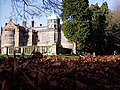 Ingestre Hall, Staffordshire, from behind the beech hedge - geograph.org.uk - 2003161.jpg