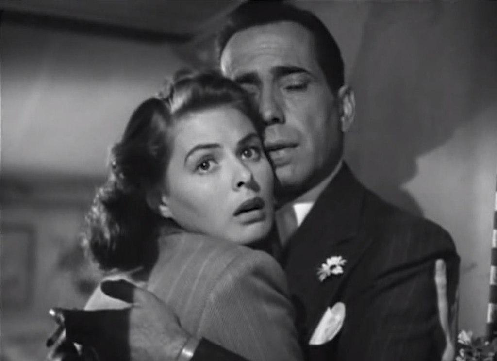 Fotograma de Casablanca (1942).