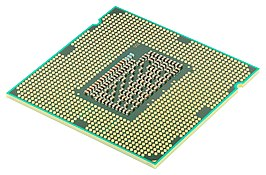 Intel CPU Core i7 2600K Sandy Bridge onderzijde