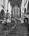 interieur middenschip naar het westen met orgel - haarlem - 20098791 - rce