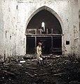 Interior of Ala Church after a fire in 1938, Gotland, Sweden. (50248987702).jpg