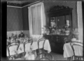 Interior view of the dining room of the Hinemoa Hotel at Te Aroha, circa 1916. ATLIB 287506.png