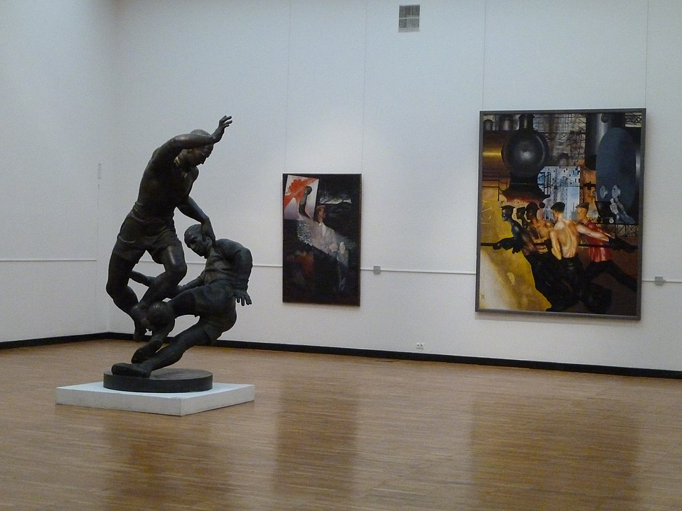 Interiors of New Tretyakov Gallery P1060792