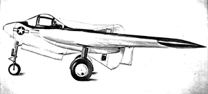 Interstate XBDR - Artist's concept of a piloted version of the XBDR-1