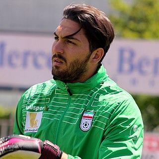 Alireza Haghighi Iranian footballer