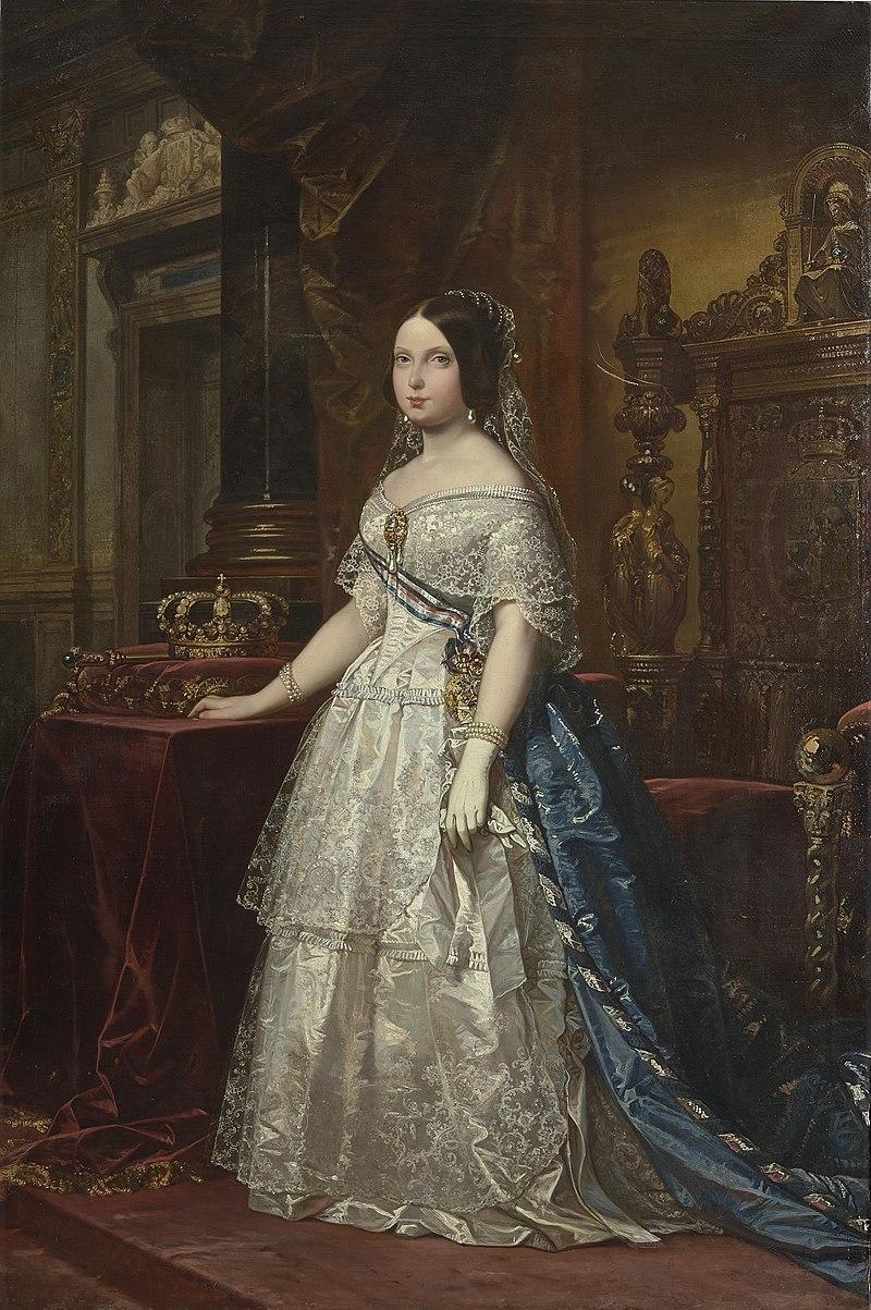 Изабель II, Королева Испании (Музей Прадо) .jpg