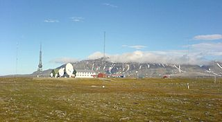 Isfjord Radio Radio station in Svalbard, Norway