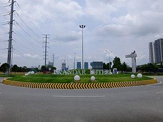 Iskandar Puteri City in Peninsular, Malaysia