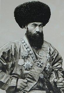 Islam Khodja Grand Vizier of the Khiva Khanate