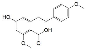 Isonotholaenic acid - Image: Isonothoyaenic acid