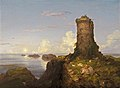 Italian Coast Scene with Ruined Tower-1838-Thomas Cole.jpg
