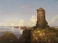 Italian Coast Scene with Ruined Tower-1838-Thomas Cole.jpg