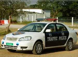 Islamabad Traffic Police - Image: Itpcar 2