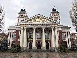 Ivan Vazov National Theatre december.jpg
