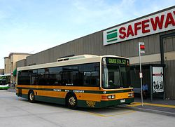 Ivanhoe Bus Company (2817 AO) Volgren 'CR221L' bodied Metrotech Delta 250 at Northland in Preston.jpg