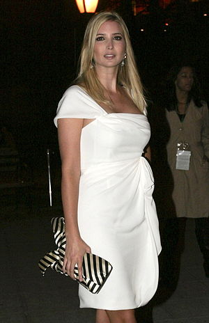 Ivanka Trump - Trump at the ''Vanity Fair'' party, 2009