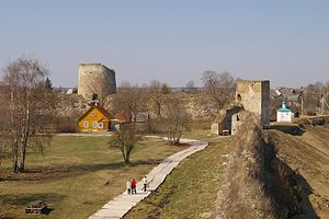 Izborsk - General view of the fortress