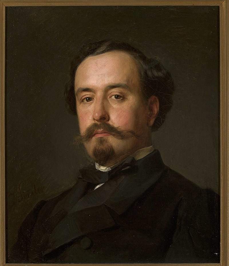 Józef Simmler - Portrait of Juliusz Kossak - MP 674 - National Museum in Warsaw.jpg