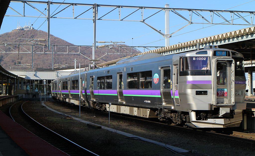 JR Hokkaido733 hakodate liner 20160406