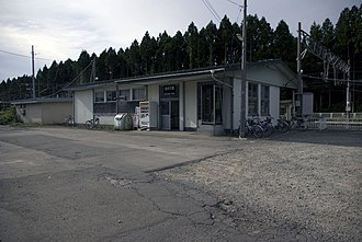 Shimizugawa Station - Shimizugawa Station in September 2009
