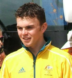 Jack Bobridge - Bobridge at a 2008 Olympics parade
