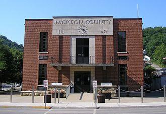 Jackson County, Kentucky - Image: Jackson County, Kentucky courthouse