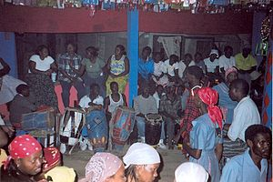 Haitian Vodou - Vodou ceremony, Jacmel, Haiti.