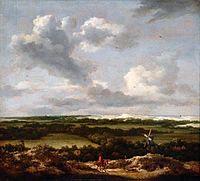 Jacob van Ruisdael - Dune Landscape with a Rabbit Hunt.jpg