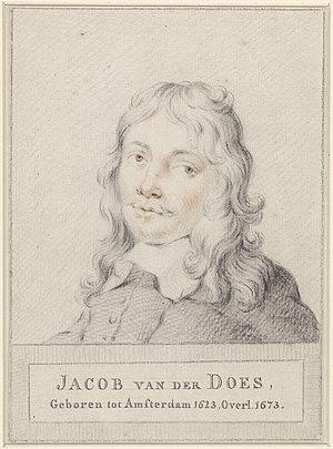 Jacob van der Does (1623-1673)