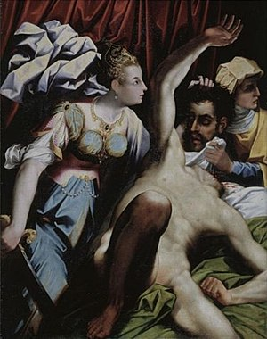 Jacopo Coppi - Judith with decapitated Holofernes