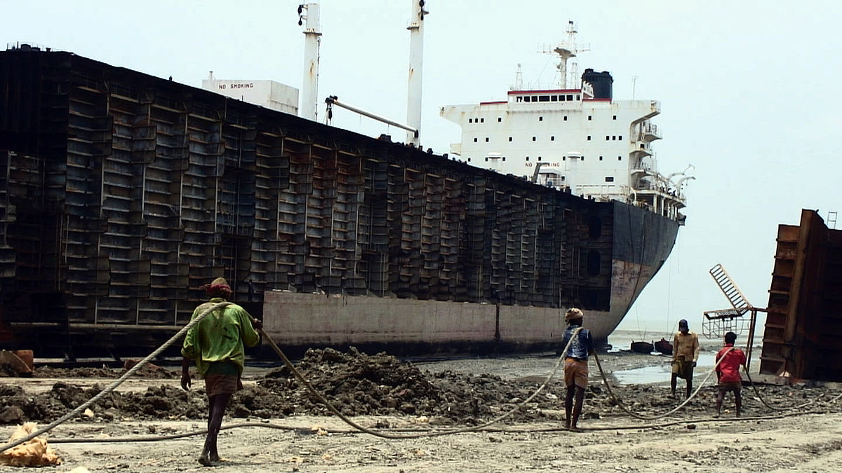Ship breaking industry in bangladesh economic