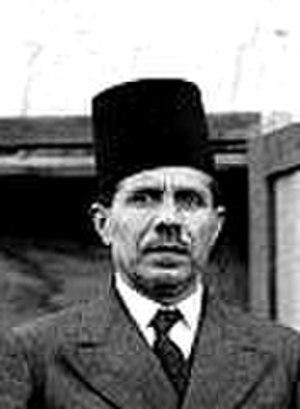 Jamal al-Husayni - Jamal Al-Husseini, 1936