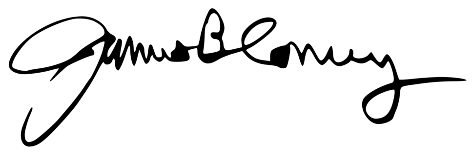 James Comey's signature