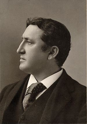 James Huneker - James Huneker, c. 1890, photo by Napoleon Sarony
