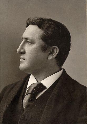 James Huneker - James Huneker, c. 1890, photo by Napoleon Sarony