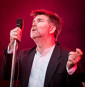James Murphy (electronic musician) - Murphy performing as part of LCD Soundsystem in June 2016.