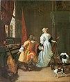 Jan Verkolje (I) - An elegant couple with musical instruments in an interior.jpg