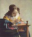 اكثر المتاحف زيارات فى العالم , المتاحب التي حصلت على اعلى زيارات في العالم 103px-Jan_Vermeer_va